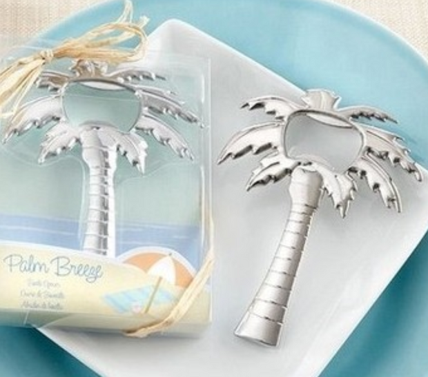 50 PCS Tropical Palm Tree Bottle Opener Wedding Favors