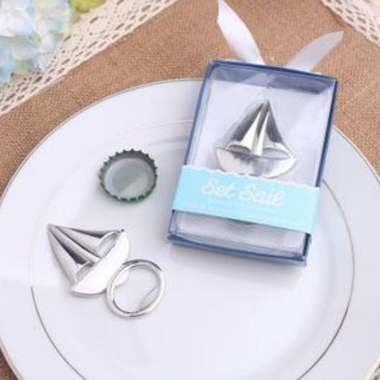 50 PCS Sea Sailing Bottle Opener Wedding Favors