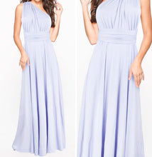 Lavender Purple Convertible Infinity Multiway Wrap Bridesmaids Dresses