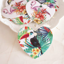 50 PCS Bird-Themed Wedding Favor Gift Tags