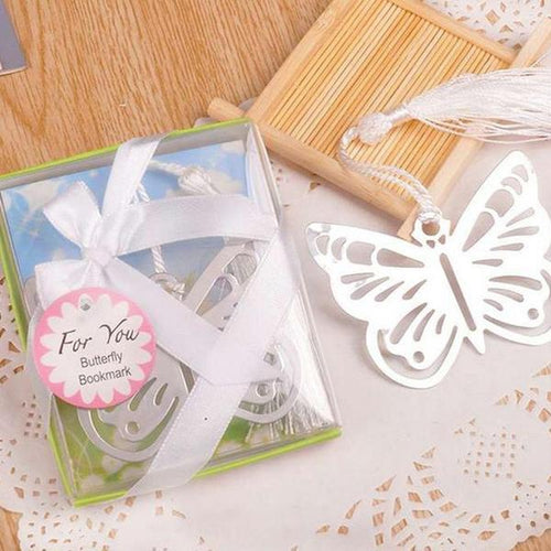 50 PCS Butterfly Bookmark Wedding Gifts & Favors