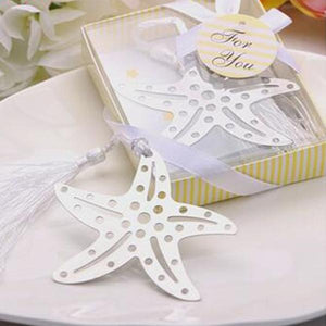 50 PCS Starfish Bookmark Wedding Gifts & Favors