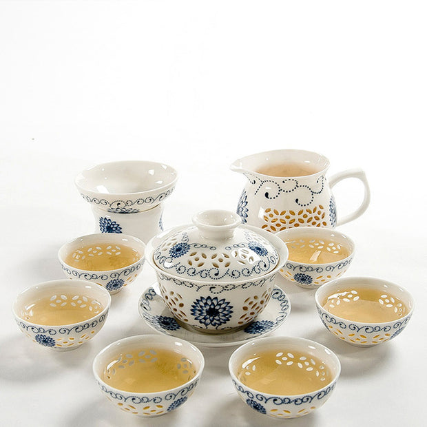 6 PCS Chinese Tea Set For Traditional Chinese Wedding Ceremony