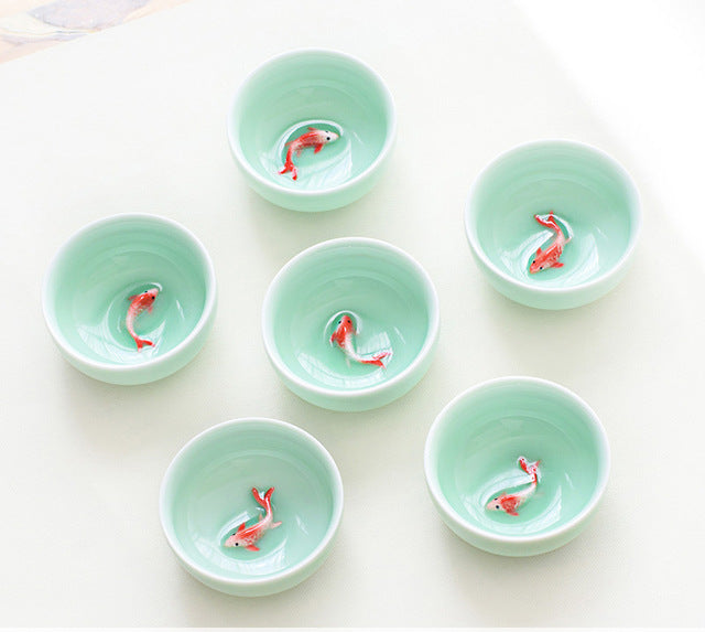 6 PCS Tea Ceremony Set For Traditional Chinese Wedding Ceremony
