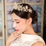 Luxurious Vintage Bridal Tiaras Crown in Baroque Style