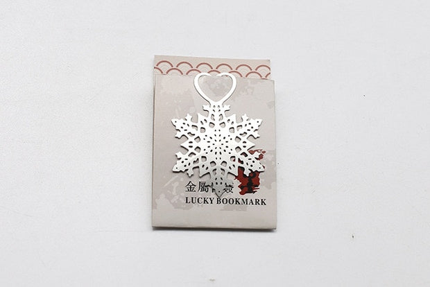 50 PCS Snowflake Bookmark Gifts & Favors For Wedding Guests