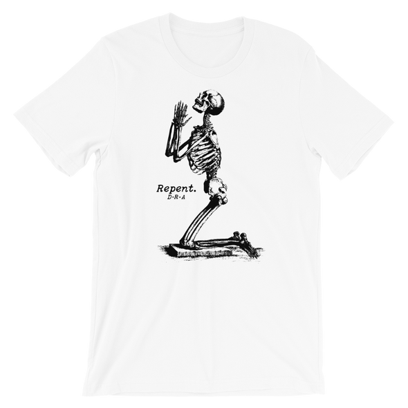 Repent Tee White