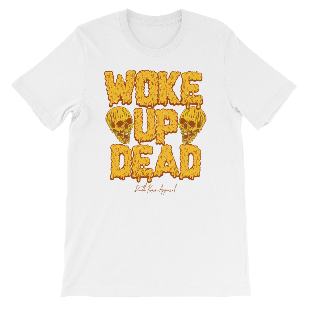 Woke Up Dead Tee - Yellow
