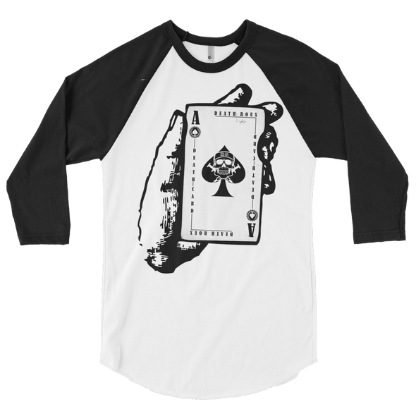 Death Card Baseball Tee