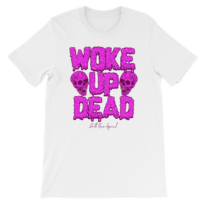 Woke Up Dead Tee - Purple