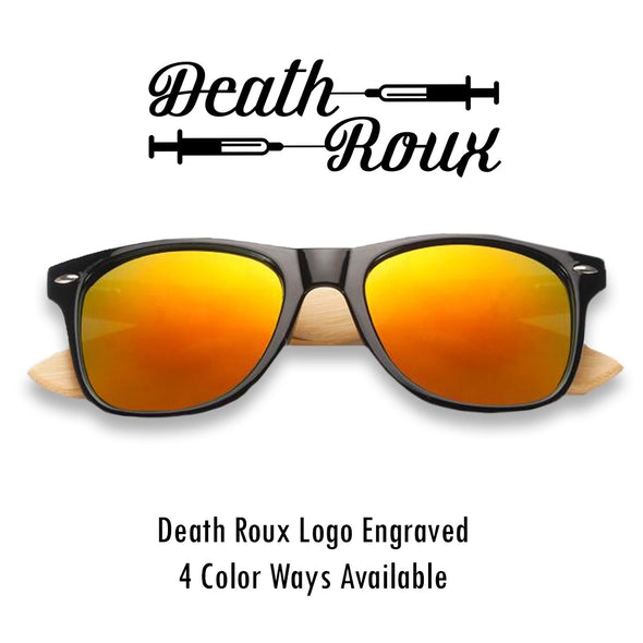 Death Roux Wooden Sunglasses