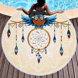 Round Beach Towel - A Must Have For Summer. - PicksByJP Offers Free Shipping - Yes Free Shipping.