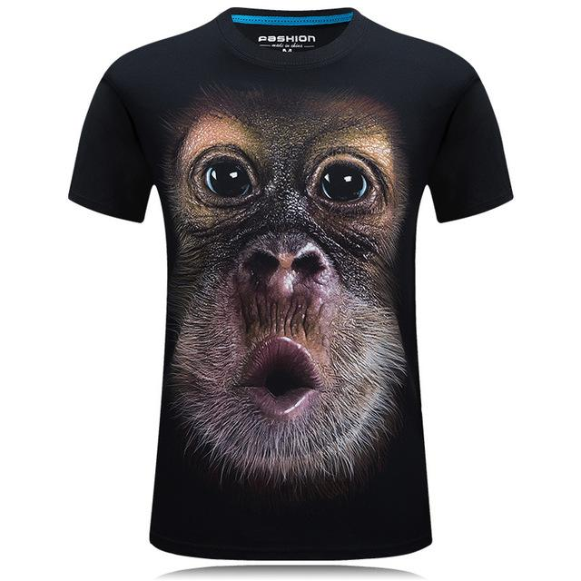 Funny Monkey Tee - PicksByJP Offers Free Shipping - Yes Free Shipping.