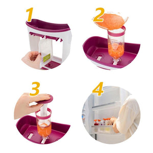 Baby food Squeeze Station - PicksByJP Offers Free Shipping - Yes Free Shipping.