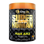 Alpha Lion SUPERHUMAN BURN - 2 in 1 Fat Burning Pre Workout - 50 servings