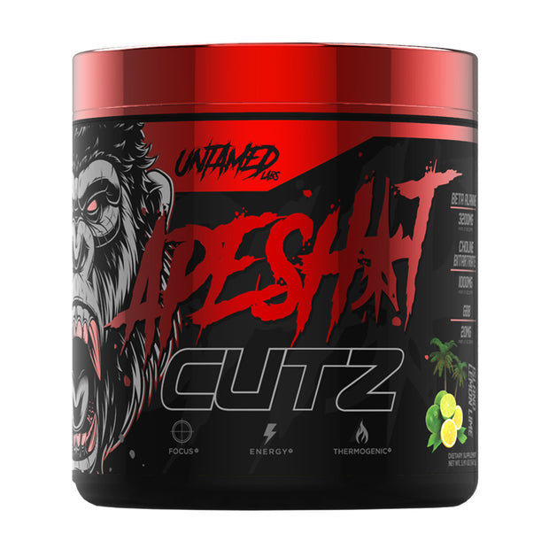Primeval Labs APE SH*T CUTZ Thermogenic Pre-workout Supplement -- 50/25 servings