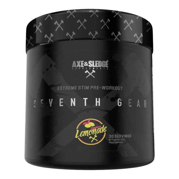 Axe & Sledge Supplements - SEVENTH GEAR 294gr/30serv - Extreme Pre-Workout