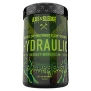 Axe & Sledge Supplements - HYDRAULIC 380gr, 20/40serv PRE-Pump Non-Stimulant PreWorkout
