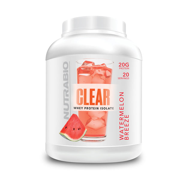Nutrabio - CLEAR 20serv - Whey Protein Isolate