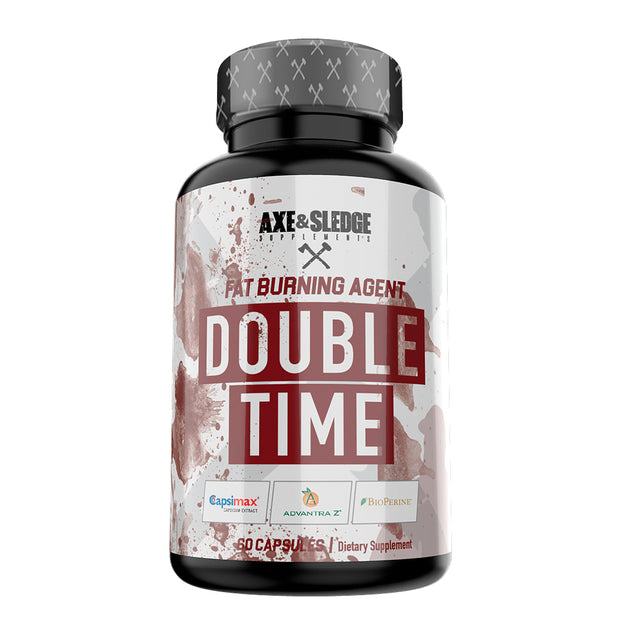 Axe & Sledge DOUBLE TIME 60caps - Fat Burning Agent