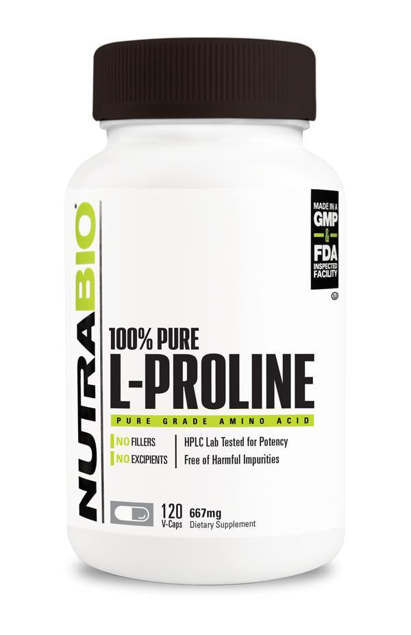 Nutrabio Proline (667mg) - 120 Vegetable Capsules