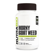 Nutrabio Horny Goat Weed (500mg) - 120 Vegetable Capsules