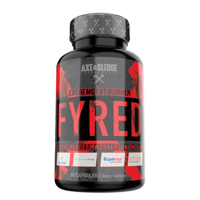 Axe & Sledge FYRED 60caps - Extreme Fat Burner