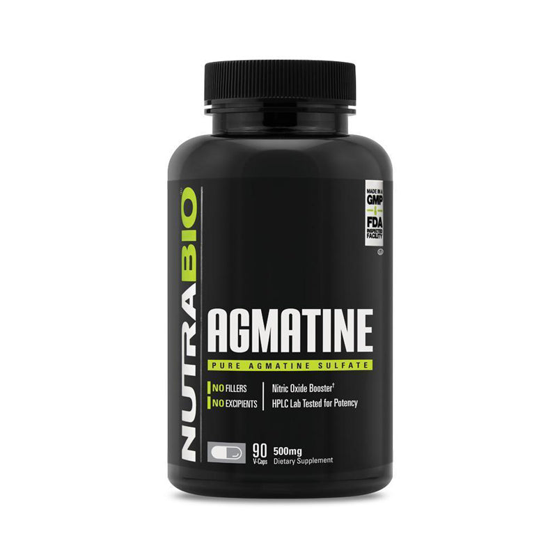 Nutrabio Agmatine Sulfate (500mg) - 90 Vegetable Capsules