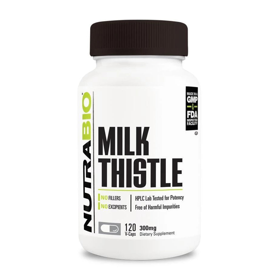 Nutrabio Milk Thistle (600mg) - 120 Vegetable Capsules