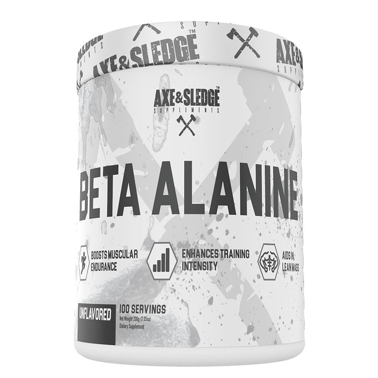 Axe & Sledge BETA ALANINE 100servings - Boosts Muscular Endurance