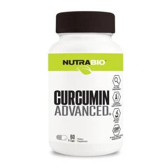 Nutrabio Curcumin Advanced 60caps Strong antioxidant