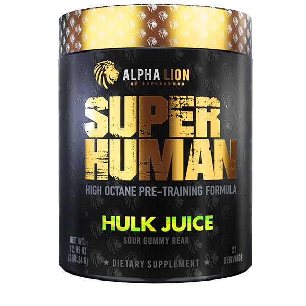 Alpha Lion SUPERHUMAN Pre-Workout High Octane Pre-Training Formula -- 21 Servings