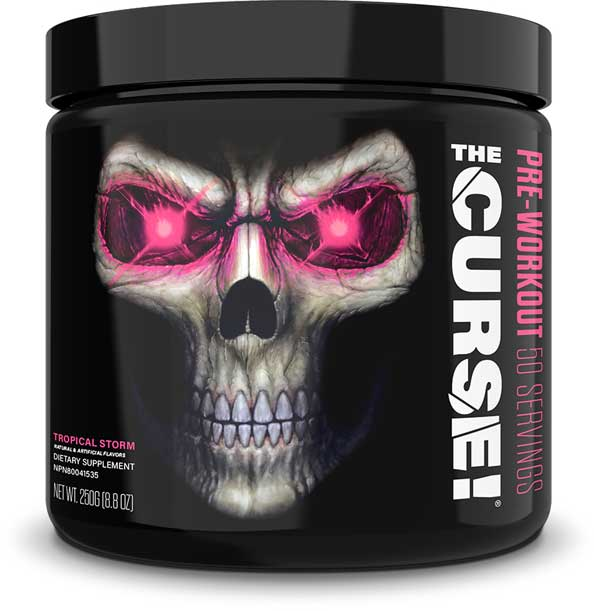 JNX Sports THE CURSE! Insane Pre-Workout Energy -- 50servings