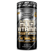 MuscleTech PLATINUM MULTIVITAMIN High-Potency Dose of Vitamins, Minerals & Antioxidants -- 90capsules