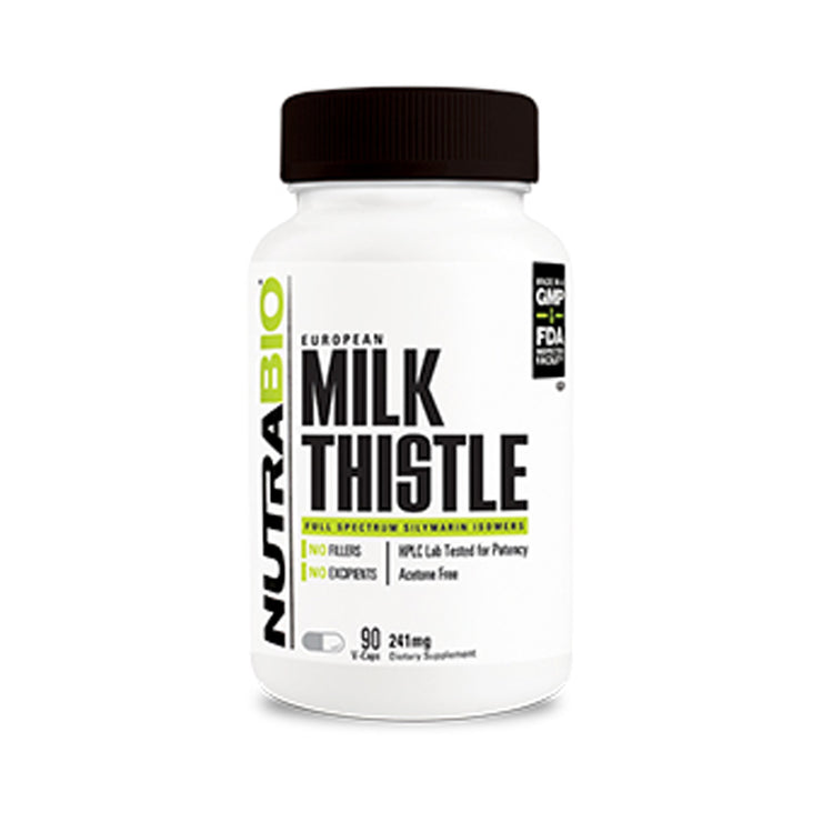 Nutrabio Milk Thistle (241mg) - 90 Vegetable Capsules