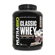 Nutrabio CLASSIC WHEY PROTEIN - 100% Whey Protein Concentrate (WPC80) -- 5 Lbs