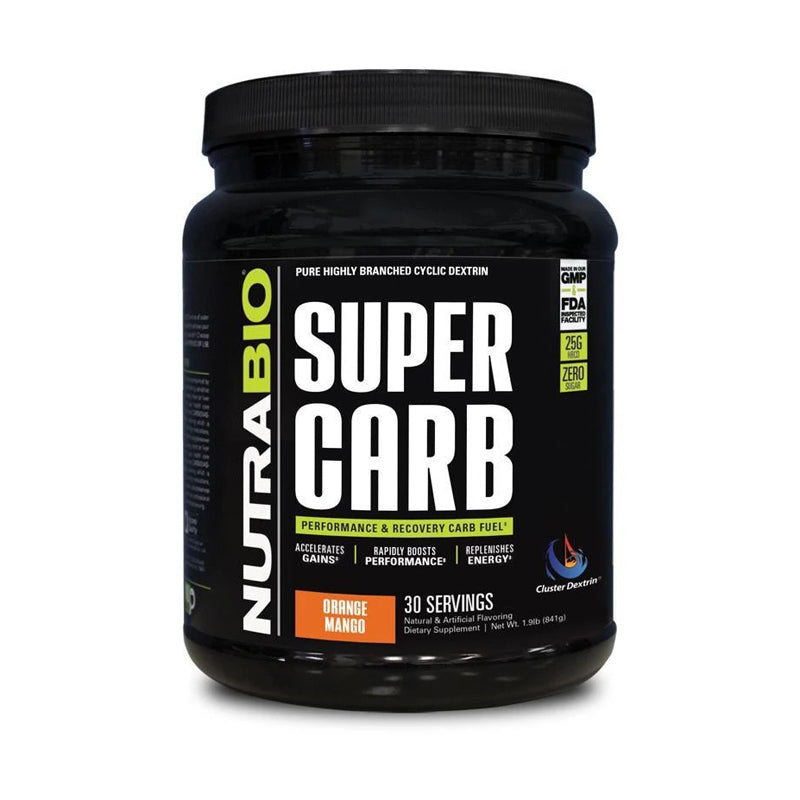 Nutrabio Super Carb - 30 Servings