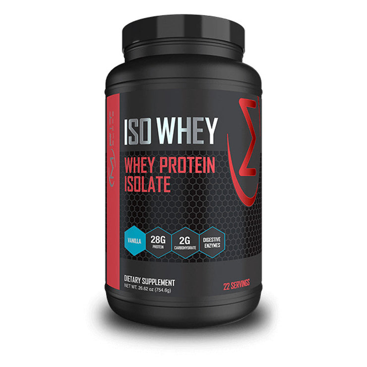 MFit Supps ISO WHEY Whey Protein Isolate Powder -- 22 Servings