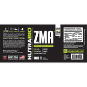 Nutrabio ZMA - 90 Vegetable Capsules Anabolic Mineral Support