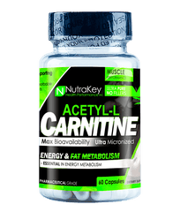 Nutrakey Acetyl L-Carnitine - 60 Capsules
