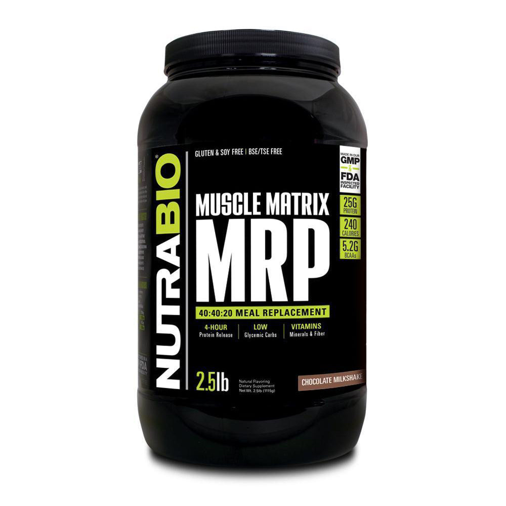 Nutrabio MRP 2.5Lb - Complete Meal Replacement