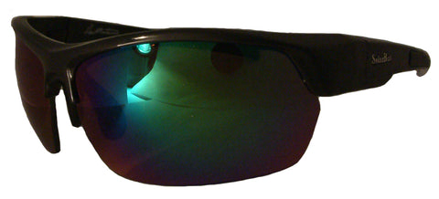 17f6b257aac Solar Bat® Aaron Martens Natural Black Sunglasses - Mirrored - Wolff Creek  Outfitters