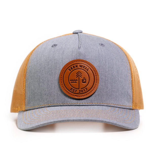 New! The Badge Hat (3 colors)