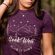 Hand Crafted Christian T-shirts- SW and Slow it Down T-shirt