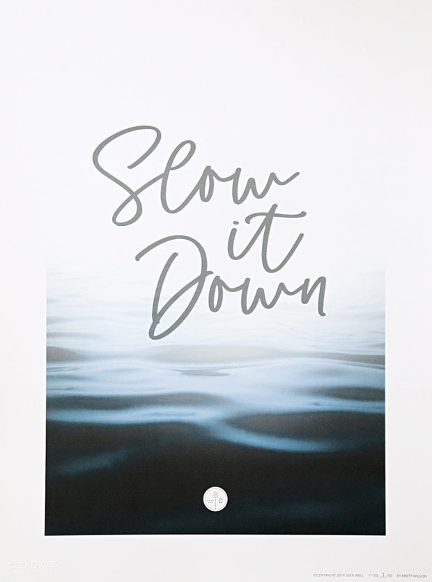Slow it Down - The Print