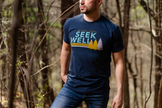Hand Crafted Christian T-shirts- Three Trees T-shirt
