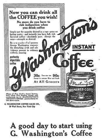 Coffee Advert 1917