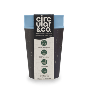 Reusable Coffee Cup | Eco Friendly Travel Mug Gift Pack | Filter/Cafetiere Coffee