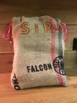 4 Pack Coffee with Hessian Bag Gift Set