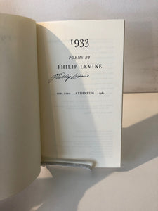 1933 by Philip Levine